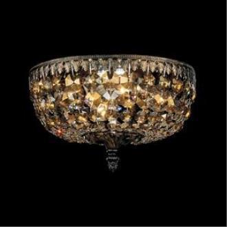 Schonbek Lighting 5040 Rialto - Four Light Flush Mount