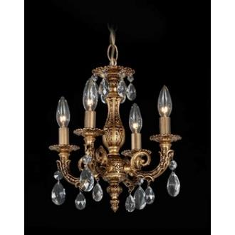 Schonbek Lighting 5660 Milano - Four Light Chandelier