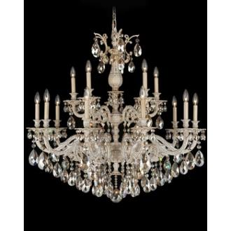 Schonbek Lighting 5685 Milano - Fifteen Light Chandelier