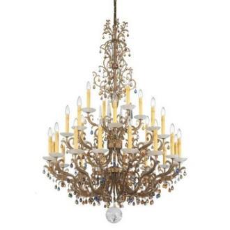 Schonbek Lighting 9886 Genesis - Twenty-Eight Light Chandelier