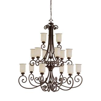 Sea Gull Lighting 31347BLE-814 Energy Star Fifteen-light Acadia Chandelier