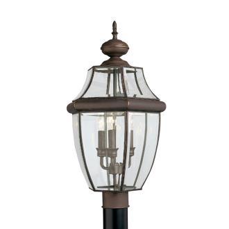 Sea Gull Lighting 8239-71 Three Light Outdoor Post Fixture