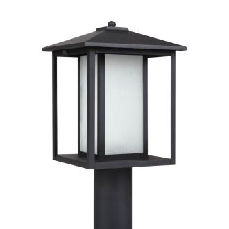 Sea Gull Lighting 89129BL-12 Hunnington - One Light Outdoor Post Lantern