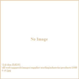 "Sterling Industries 10004-S4 33.25"" Flowers Wall Art - (Set of 4)"