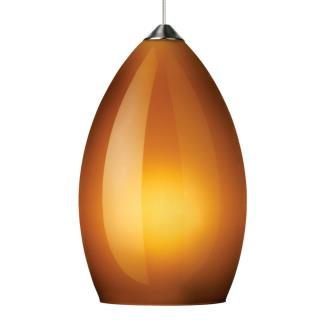 Tech Lighting 700FJFIRF Firefrost - One Light FreeJack Low Voltage Pendant