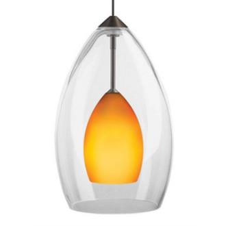 Tech Lighting 700FJFIRC Inner Fire - One Light FreeJack Low Voltage Pendant