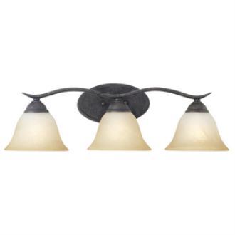 Thomas Lighting SL748322 Prestige - Three Light Bath Bar