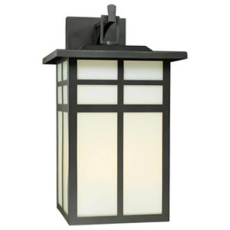 Thomas Lighting SL91067 Mission - Three Light Outdoor Wall Lantern