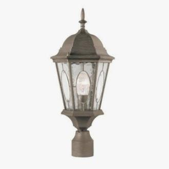 Trans Globe Lighting 4716 Watered Windows - One Light Outdoor Post Mount
