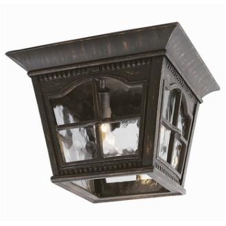 Trans Globe Lighting 5427 Chesapeake - Three Light Outdoor Flush Mount