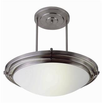 Trans Globe Lighting PL-2481 WH Two Light Large Semi-Flush Mount
