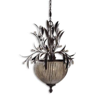 Uttermost 21004 Cristal De Lisbon - Three Light Chandelier