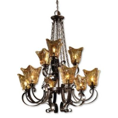 Uttermost 21005 Vetraio - Nine Light Chandelier