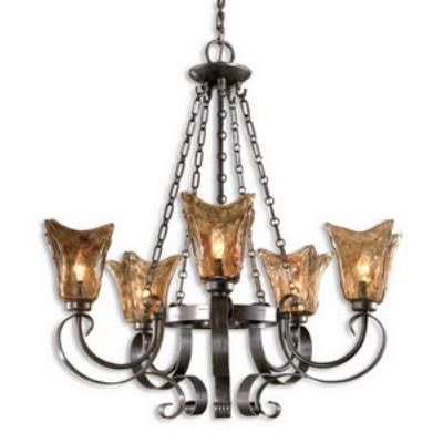Uttermost 21007 Vetraio - Five Light Chandelier