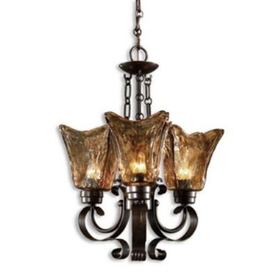 Uttermost 21008 Vetraio - Three Light Chandelier
