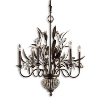 Uttermost 21017 Cristal De Lisbon - Eight Light Chandelier