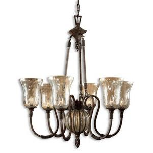 Galeana - Six Light Chandelier