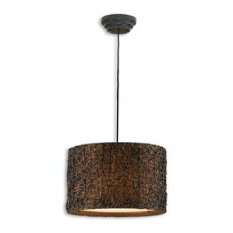 Uttermost 21103 Knotted Rattan - Three Pendant