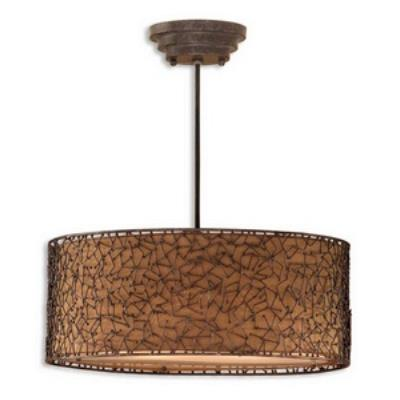 Uttermost 21153 Brandon - Three Light Pendant