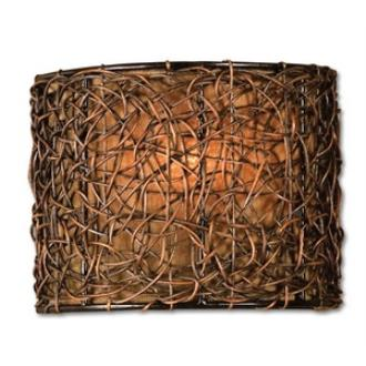 Uttermost 22466 Knotted Rattan - One Light Wall Sconce