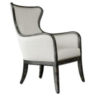 """Uttermost 23073 Sandy - 29"""" Wing Chair"""