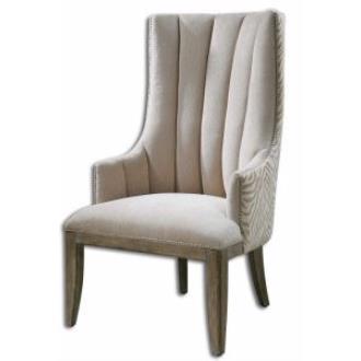 "Uttermost 23117 Zyla - 49"" Arm Chair"