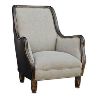 """Uttermost 23600 Conlin - 39"""" Armchair"""