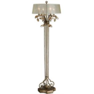 Uttermost 28412-1 Alenya - Four Light Floor Lamp