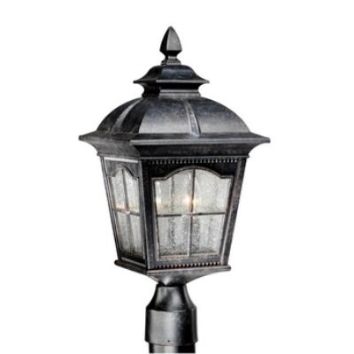 "Vaxcel Lighting AD-OPU090BP Arcadia - 9"" Outdoor Post Mount"