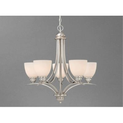 Vaxcel Lighting AL-CHU005 Avalon - Five Light Chandelier