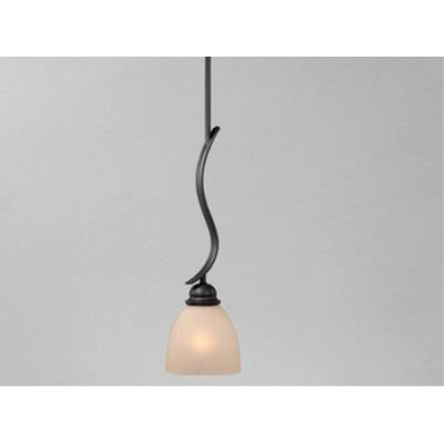 "Vaxcel Lighting AL-PDD060OBB Avalon 6"" Mini Pendant"