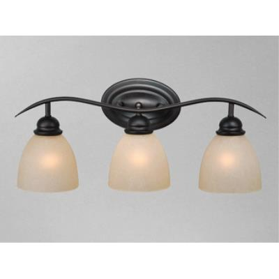 Vaxcel Lighting AL-VLD003OBB Avalon 3L Vanity Light