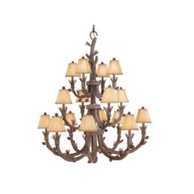 Vaxcel Lighting AS-CHS016PT Aspen - Sixteen Light Chandelier