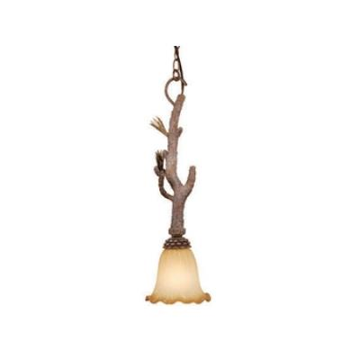 "Vaxcel Lighting AS-PDD070PT Aspen - 7"" Mini-Pendant"