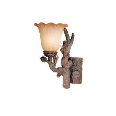 Vaxcel Lighting AS-VLU001PT Aspen - One Light Wall Sconce