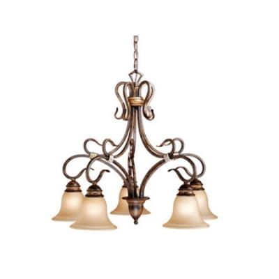 Vaxcel Lighting BE-CHD005AW Berkeley 5L Chandelier