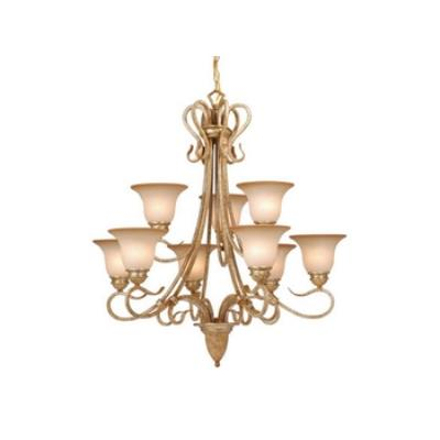 Vaxcel Lighting BE-CHU009CA Berkeley 9L Chandelier