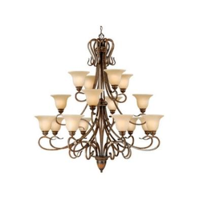 Vaxcel Lighting BE-CHU016 Berkeley - Sixteen Light Chandelier