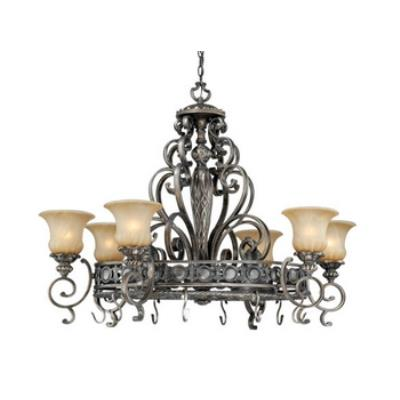 Vaxcel Lighting BG-PDB420PZ Bellagio - Eight Light Pendant
