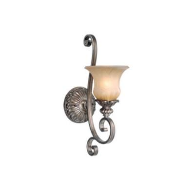 Vaxcel Lighting BG-VLU001PZ Bellagio - One Light Wall Sconce