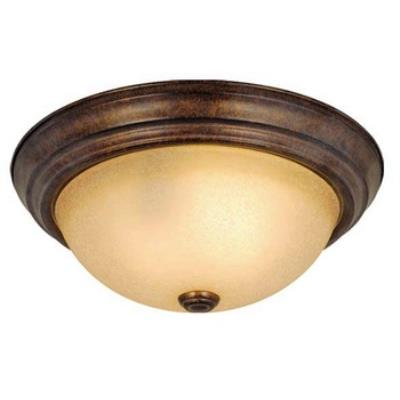 "Vaxcel Lighting CC25111RBZ Saturn 11"" Flushmount"