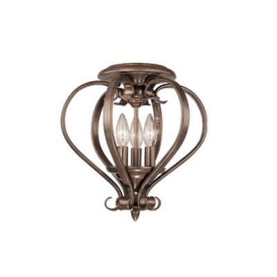 Vaxcel Lighting CC35403RBZ Monrovia - Open Ceiling Mount