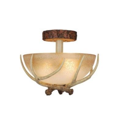 "Vaxcel Lighting CF33016NS Lodge - 16"" Semi-Flush Ceiling Mount"