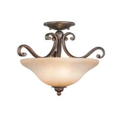 Vaxcel Lighting CF35417RBZ/B Monrovia Semi Flush Ceiling Light