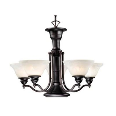 Vaxcel Lighting CH30306OBB Standford 6L Chandelier