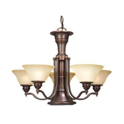 Vaxcel Lighting CH30306RBZ Standford 6L Chandelier
