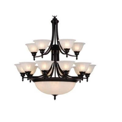 Vaxcel Lighting CH33320OBB Brussels 20L Chandelier