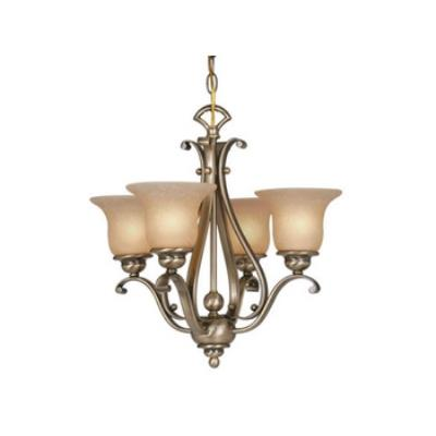 Vaxcel Lighting CH35404A/C Monrovia 4 Light Chandelier