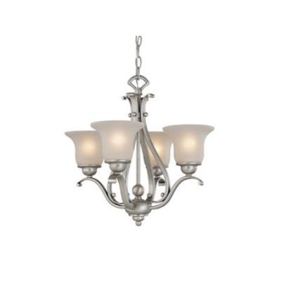 Vaxcel Lighting CH35404BN Monrovia 4 Light Chandelier