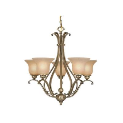 Vaxcel Lighting CH35405A/C Monrovia 5 Light Chandelier